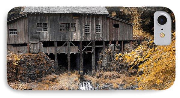 Cedar Creek Grist Mill Phone Case by Steve McKinzie