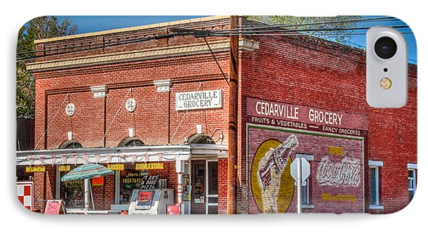 Cedarville California Grocery Store Phone Case by Scott McGuire