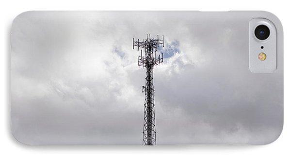 Cell Phone Tower Phone Case by Paul Edmondson