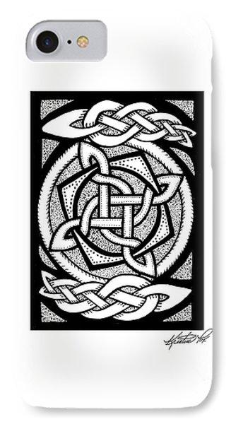 Celtic Knotwork Rotation IPhone Case