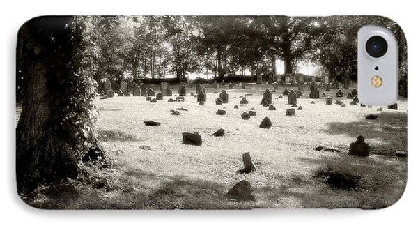 Cemetery At Mud Meeting House Phone Case by Mark Jordan