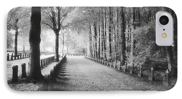 Cemetery At Ypres  IPhone Case by Simon Marsden