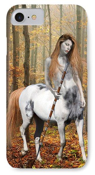 Centaur Series Autumn Walk IPhone Case by Nikki Marie Smith