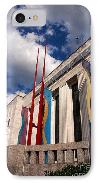 Center For Visual Art Nashville Phone Case by Susanne Van Hulst