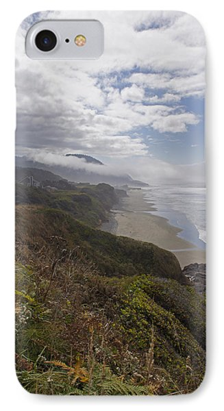 IPhone Case featuring the photograph Central Oregon Coast Vista by Mick Anderson