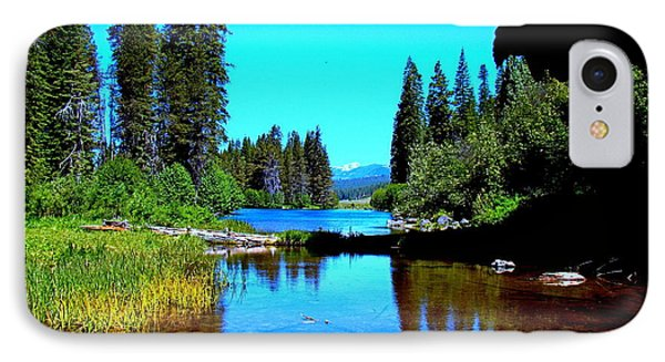 Central Oregon Tranquility  Phone Case by Nick Kloepping