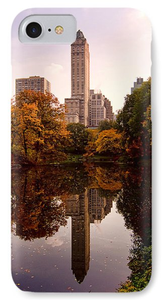 IPhone Case featuring the photograph Central Park by Michael Dorn