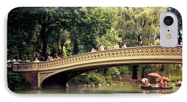 Central Park Romance - Bow Bridge - New York City Phone Case by Vivienne Gucwa
