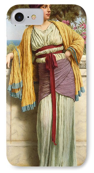 Cestilia Phone Case by John William Godward