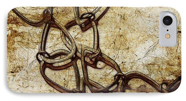 Chain Links Phone Case by Judi Bagwell