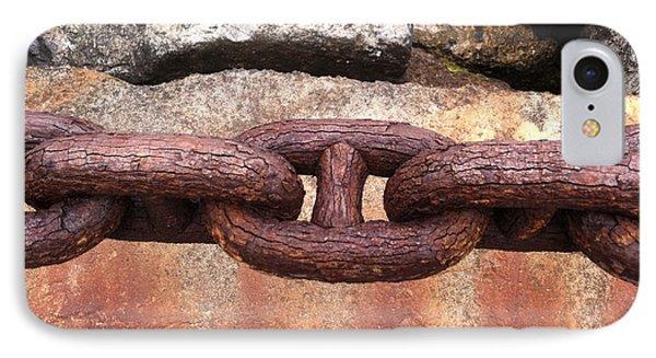 Chain Under The Golden Gate Bridge IPhone Case by Bill Owen