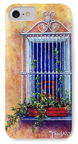 Chair In The Window Phone Case by Tanja Ware