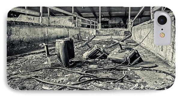 Chairs Undone IPhone Case by CJ Schmit