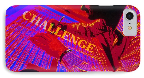 Challenge Phone Case by Jerry McElroy