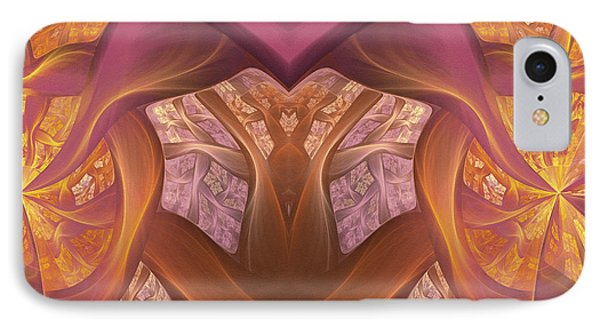 Chambers Of The Heart IPhone Case by Georgiana Romanovna