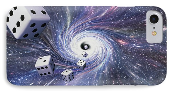 Chance In The Universe Phone Case by Mehau Kulyk