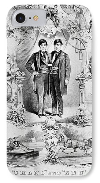 Chang And Eng Bunker, The Original Phone Case by Science Source