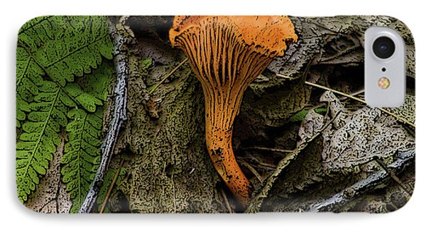 IPhone Case featuring the photograph Chanterelle by Michael Friedman