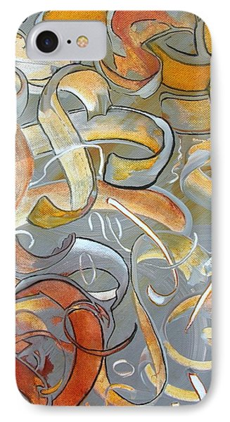 Chaos IPhone Case by Mary Kay Holladay