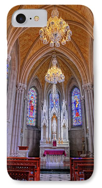 Chapel At Sacred Heart Cathedral Phone Case by Dave Mills