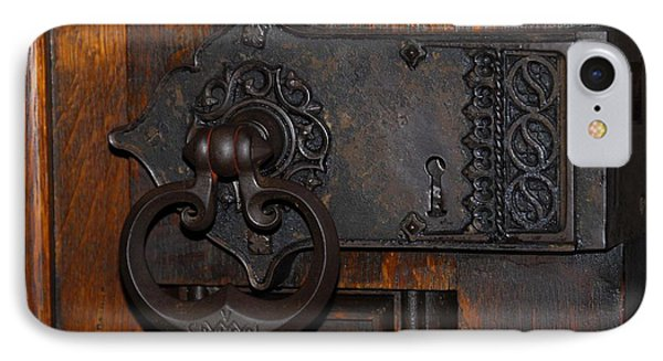 IPhone Case featuring the photograph Chapel Door by Cindy Manero