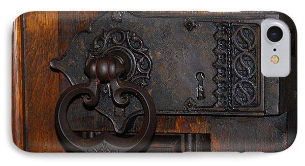 Chapel Door IPhone Case by Cindy Manero