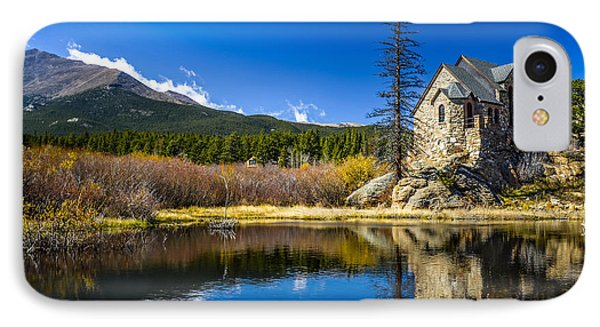 Chapel On The Rock IPhone Case by Mark Bowmer