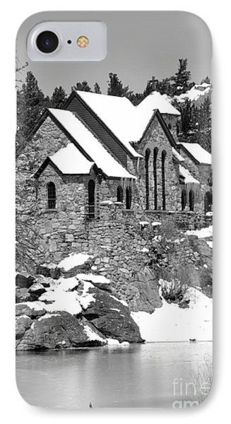 Chapel On The Rocks No. 2 IPhone Case