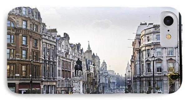 Charing Cross In London Phone Case by Elena Elisseeva