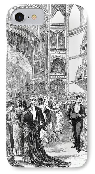 Charity Ball, 1880 Phone Case by Granger