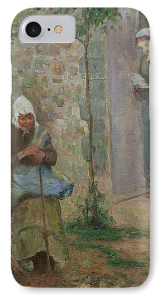 Charity Phone Case by Camille Pissarro