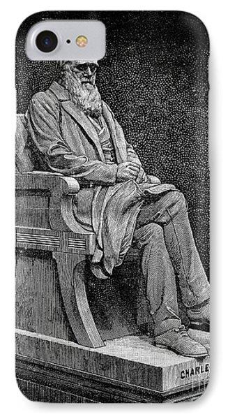 Charles Darwin (1809-1882) Phone Case by Granger