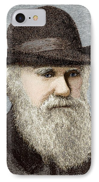 Charles Darwin, British Naturalist Phone Case by Sheila Terry