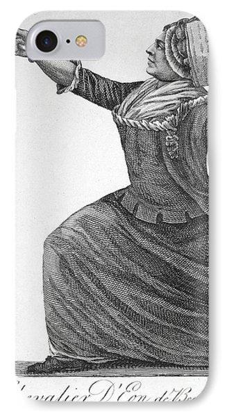 Charles Deon De Beaumont Phone Case by Granger
