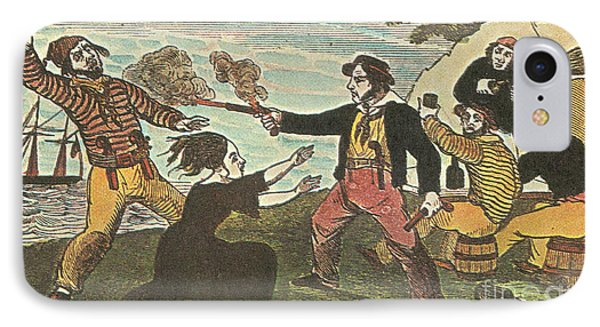 Charles Gibbs, American Pirate Phone Case by Photo Researchers