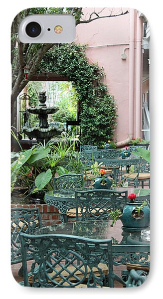 Charleston Dining Phone Case by Suzanne Gaff