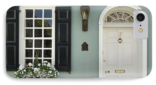 Charleston Doorway - D006767 IPhone Case by Daniel Dempster
