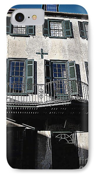 Charleston Houses Phone Case by Susanne Van Hulst