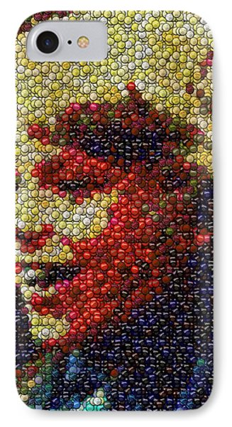 Charlie Buckets Fizzy Lifting Drinks  Bottle Cap Mosaic IPhone Case