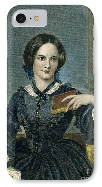 Charlotte Bronte Phone Case by Granger