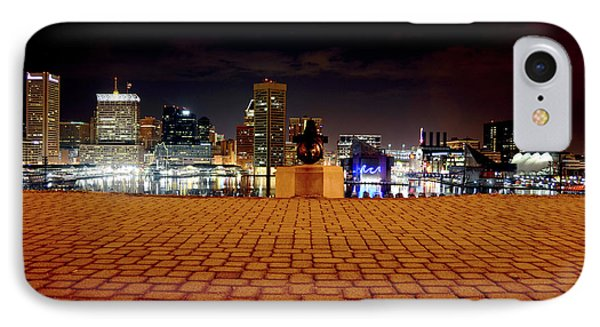 Charm City Skyline IPhone Case