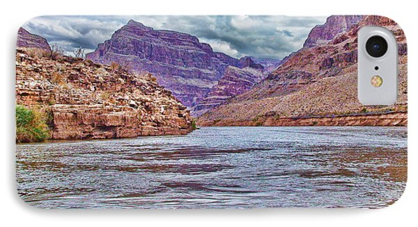 Charting The  Mighty Colorado River Phone Case by Douglas Barnard