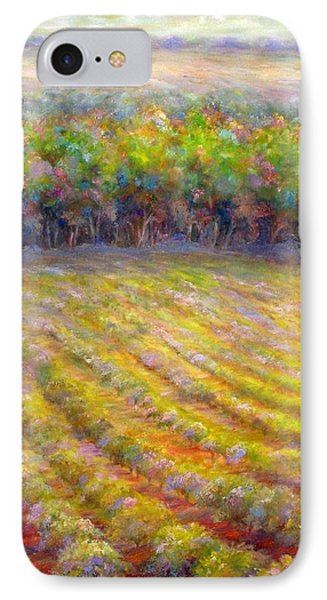 Chateau De Berne Vineyard IPhone Case by Bonnie Goedecke