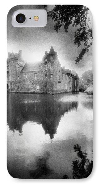 Chateau De Trecesson Phone Case by Simon Marsden