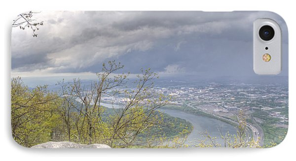 Chattanooga Valley IPhone Case by David Troxel