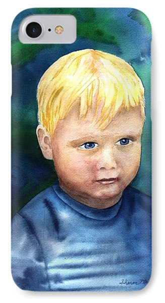 IPhone Case featuring the painting Chayton by Sharon Mick