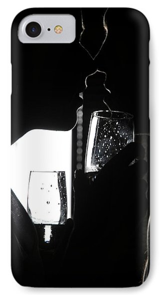 Cheers Before The Kiss Phone Case by Jenny Rainbow