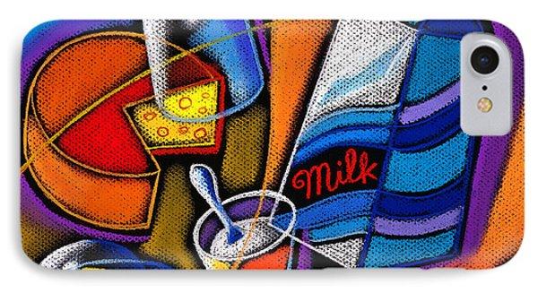 Cheese Phone Case by Leon Zernitsky
