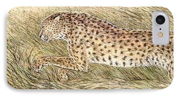 Cheetah And Gazelle Fawn Phone Case by Tim McCarthy