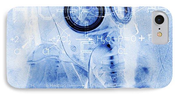 Chemical Warfare Phone Case by Mehau Kulyk